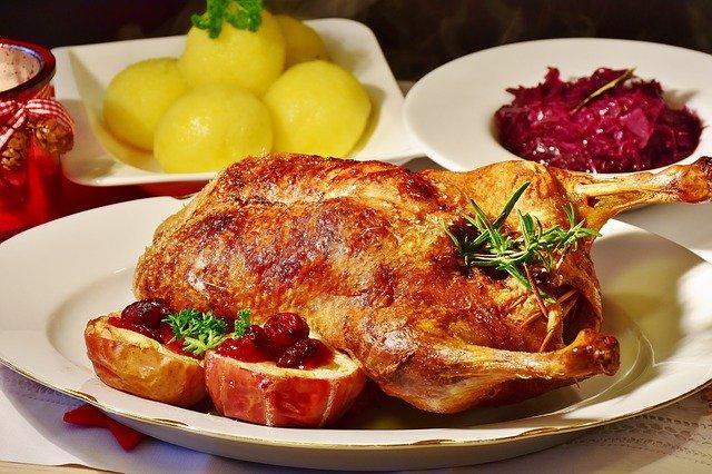 La cuisson du canard au four